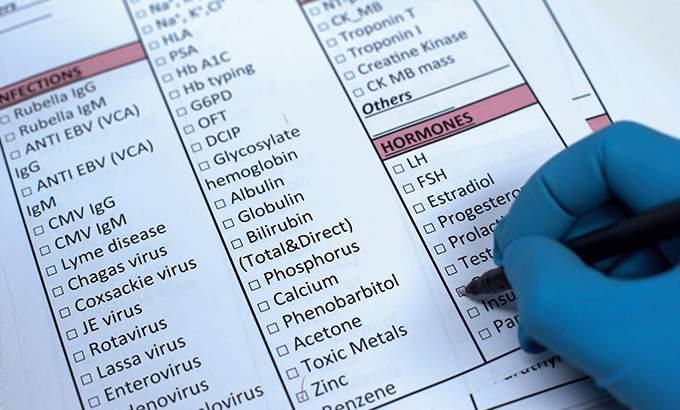 basline hormone profile
